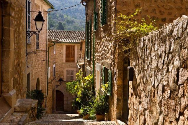 Beautiful village of Fornalutx