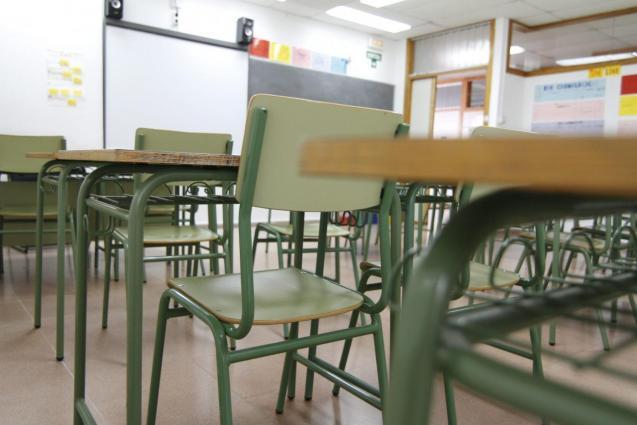 Classroom in Menorca