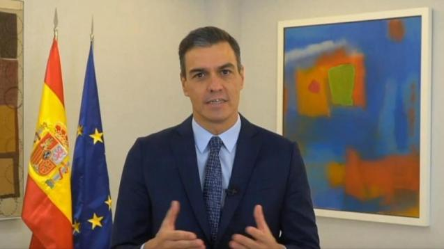 Pedro Sánchez, speaking at the Tourism Innovation Summit