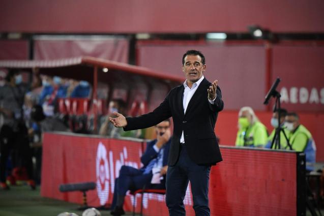 Real Mallorca's coach Luis Garcia Plaza