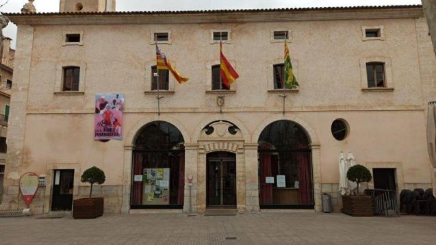 Sa Pobla town hall, Mallorca