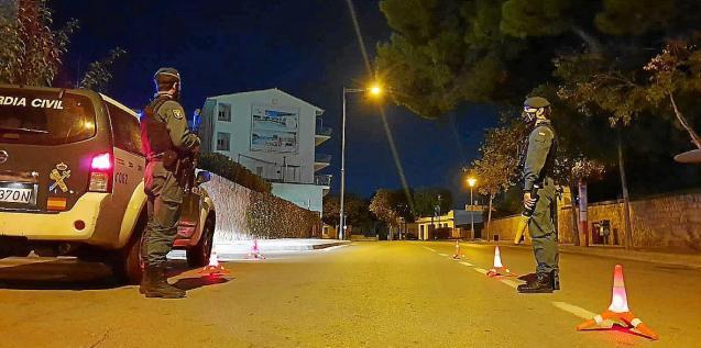 Guardia Civil control, Mallorca