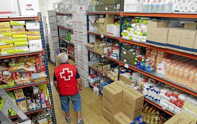 Red Cross Food Bank storage, Mallorca