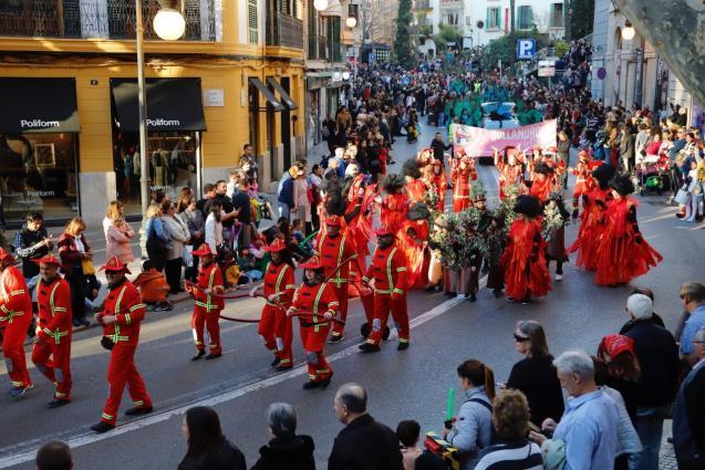 Carnival in Palma, Mallorca