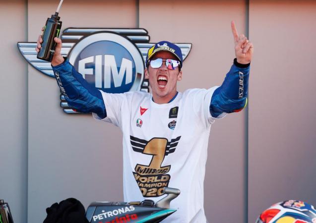 Joan Mir, 2020 MotoGP world champion