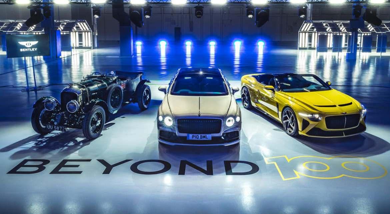 Bentley cambiará a la gama solo para vehículos eléctricos en 2030