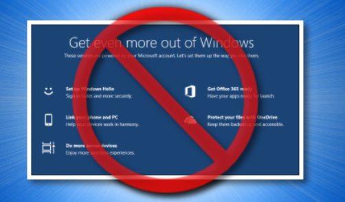 Cómo deshabilitar Obtener aún más de Windows en Windows 10