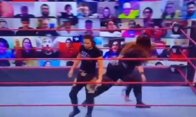 Estrella de WWE Raw lesionada durante un spot con Nia Jax