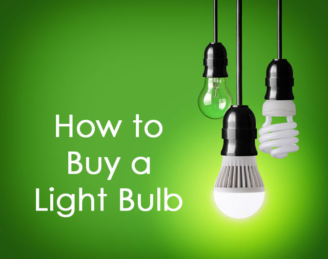 How to Buy a Light Bulb