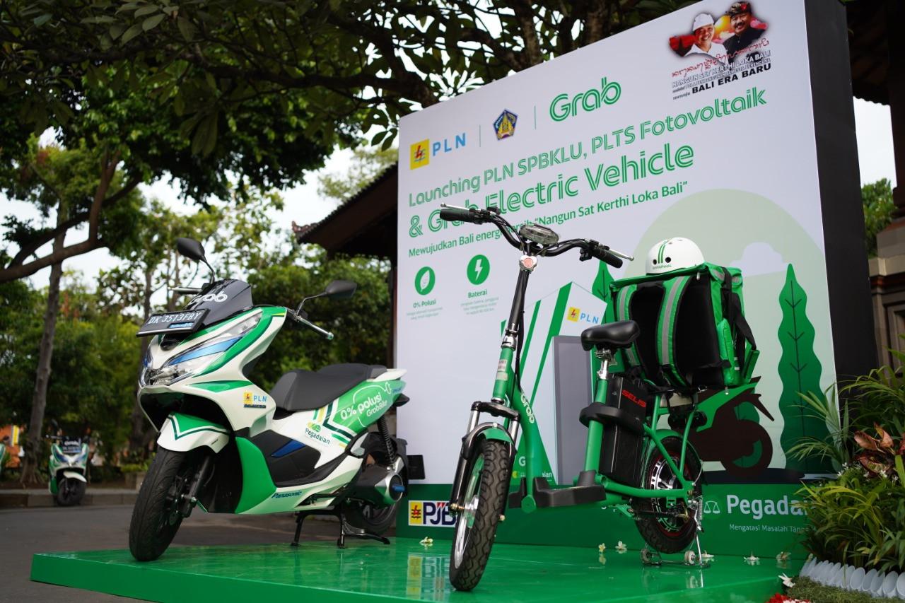 Grab fortalece el ecosistema de vehículos eléctricos de Indonesia