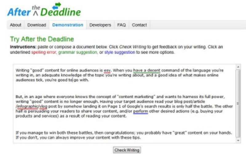 6 herramientas de edición gratuitas para mejorar la redacción de bloggers