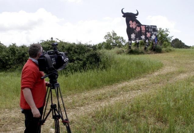 The Osborne bull in Mallorca