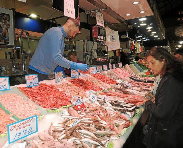Fish market, Mallorca