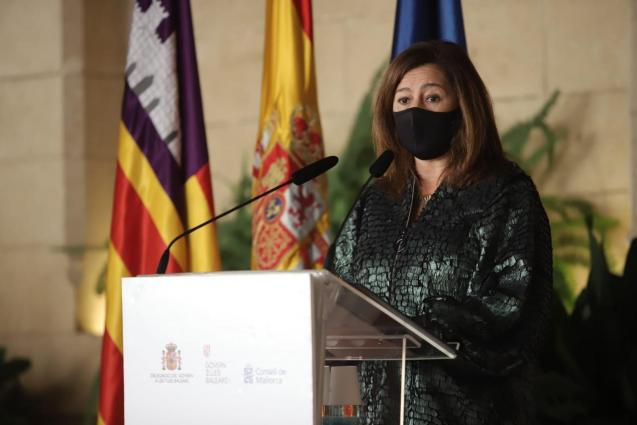 President Francina Armengol of the Balearics