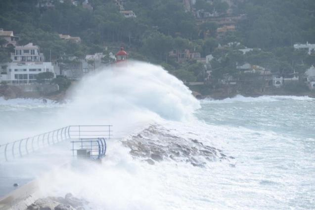 Rough seas and high waves forecast on Tuesday.