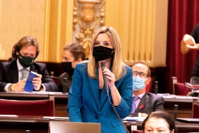 Patricia Guasp, Balearic parliamentary spokesperson for Ciudadanos