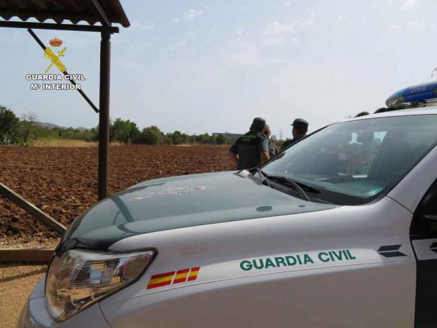 The Guardia Civil is searching the area