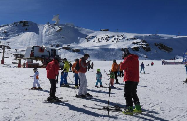 Sierra Nevada ski resort in Andalucia will open to skiers next Friday