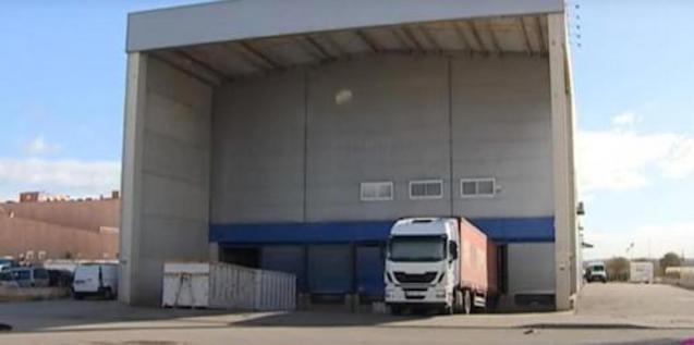 Amazon warehouse in Mallorca.