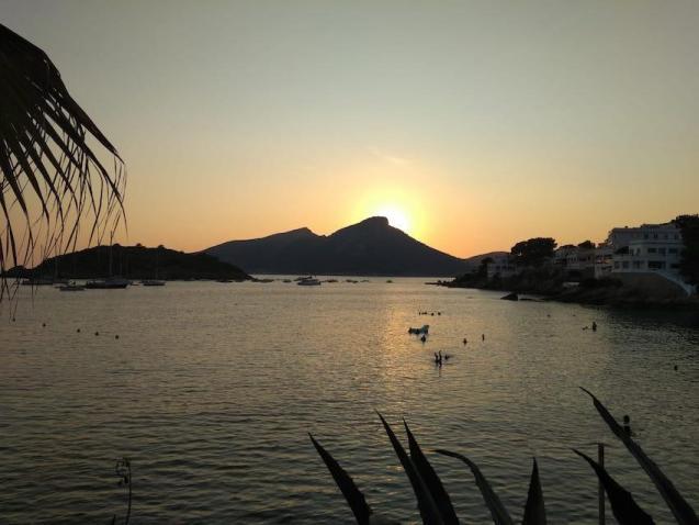 Sunset in Mallorca.