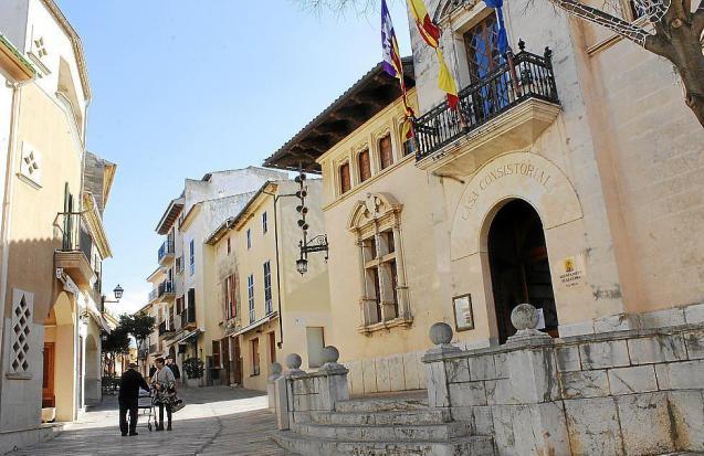 Alcudia town hall, Mallorca