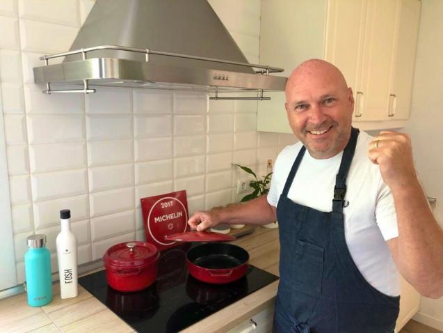 Marc Fosh is extremely pleased to have maintained his Michelin Star