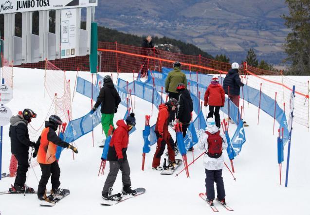 Spanish ski resort La Masella re-opens