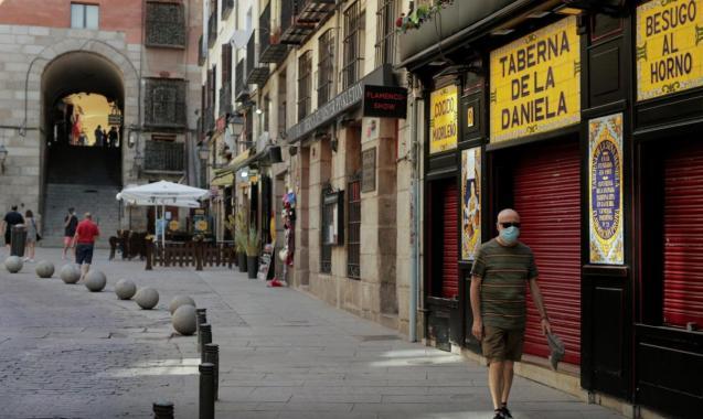 Bars and restaurants closing down in Mallorca.