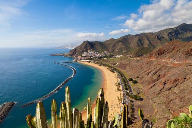 Las Teresitas Beach, Tenerife.