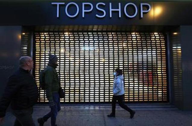 Topshop, UK.