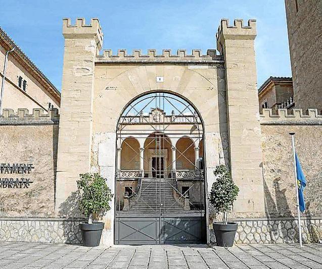 Son Mas Castle, Andratx town hall in Mallorca