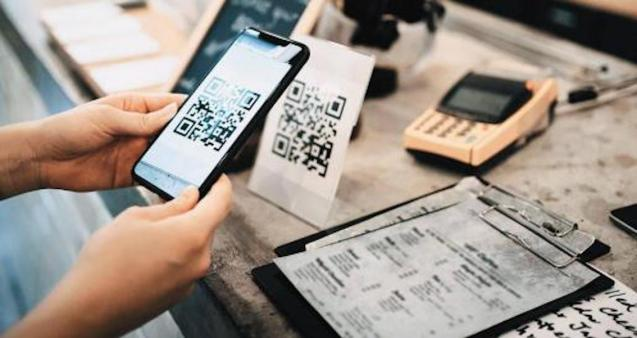 QR codes for restaurants and bars.