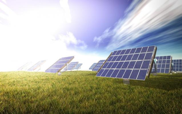 Solar panels absorb solar rays and convert them into electricity