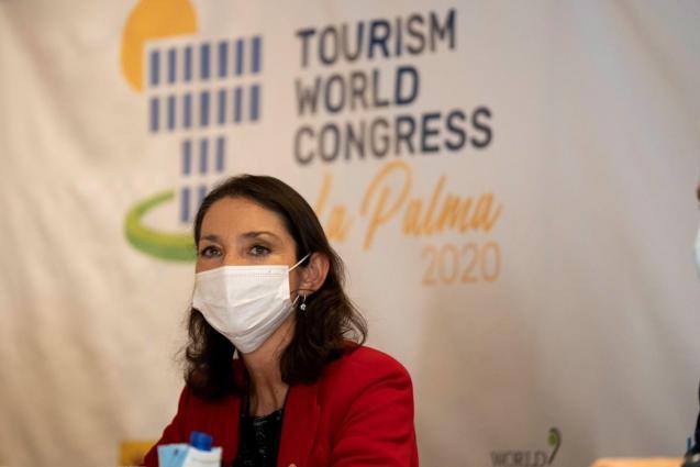 Spain's tourism minister, Reyes Maroto