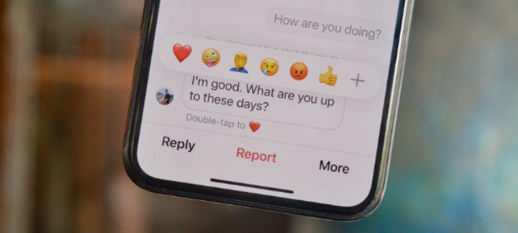 Cómo cambiar las reacciones de Emoji en los DM de Instagram