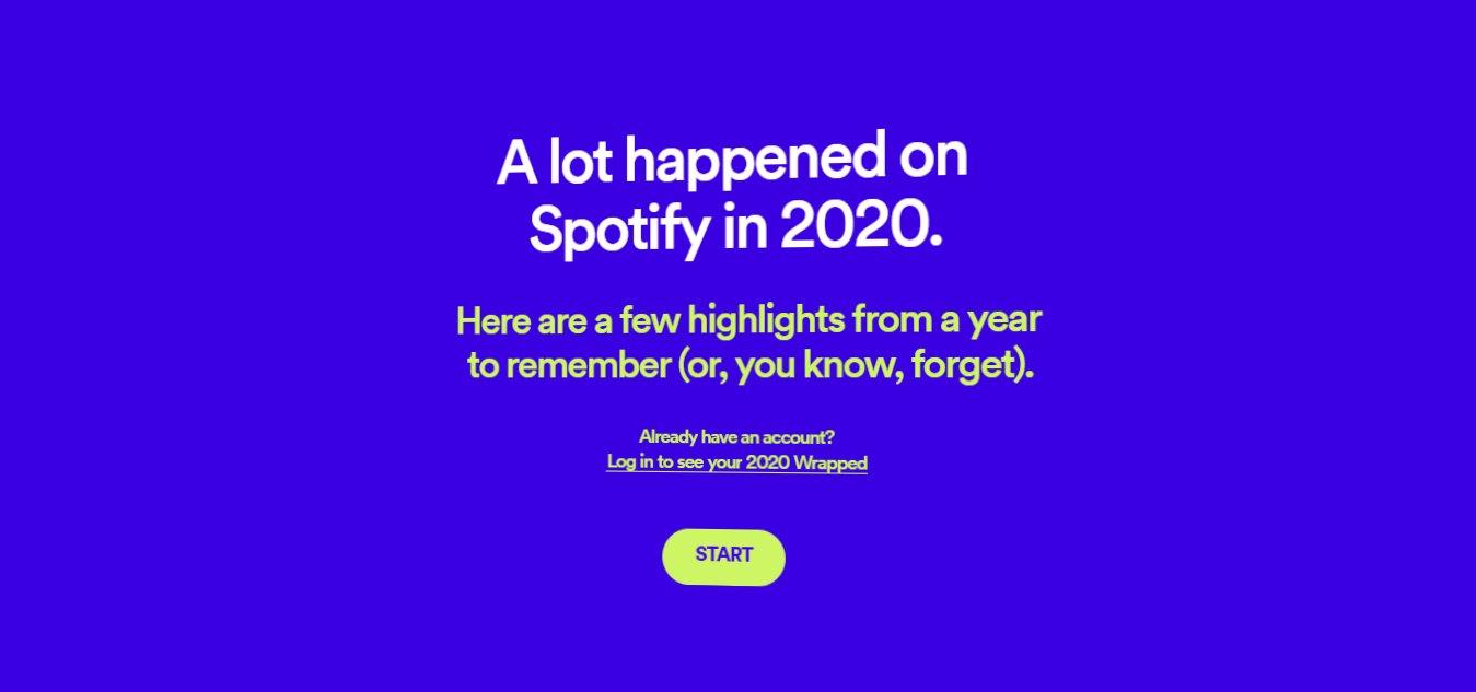 Cómo encontrar su Spotify Wrapped 2020
