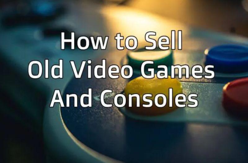 Cómo vender consolas y videojuegos antiguos