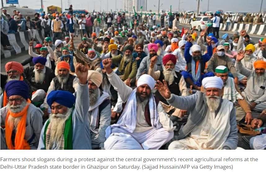 Los agricultores de la India prometen intensificar las protestas contra las reformas ya que las conversaciones no logran avanzar
