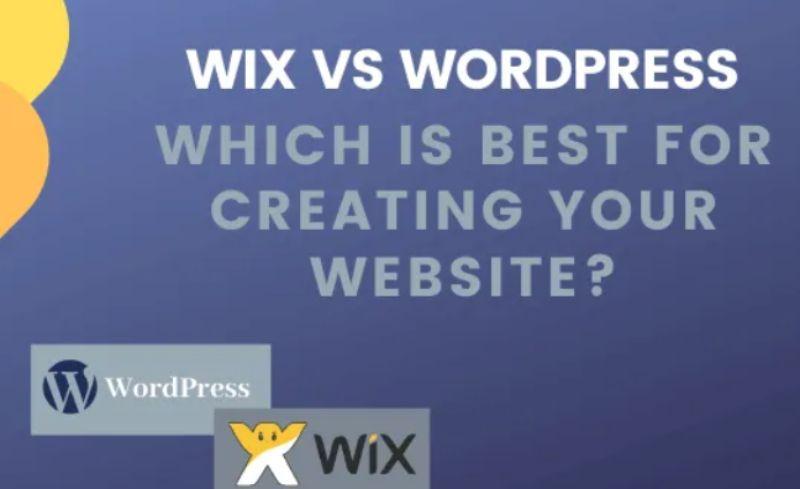 Wix Vs WordPress ¿Cuál es mejor para crear su sitio web