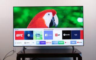 Connect Samsung TV to Alexa - Samsung smart TV home screen