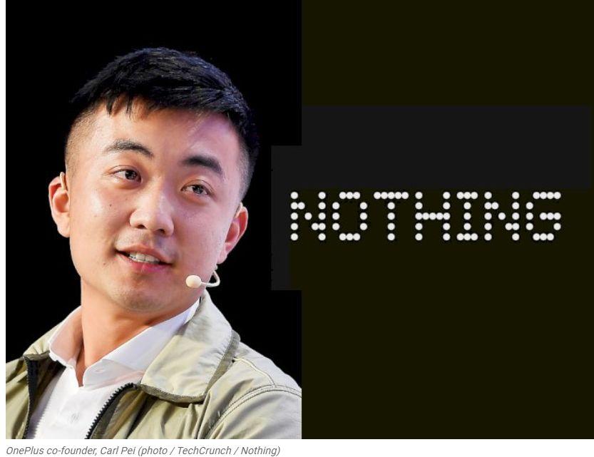 El fundador de OnePlus, Carl Pei, crea oficialmente una empresa con el nombre Nothing