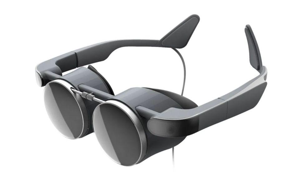 Las gafas de realidad virtual de Panasonic emite vibraciones Steampunk