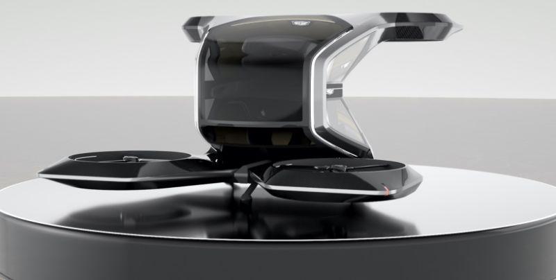 Los conceptos de coche volador Cadillac y cápsula autónoma insinúan una hoja de ruta eléctrica