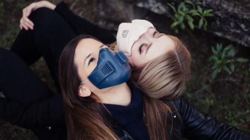 Máscara inteligente y conectada xHale de xRapid