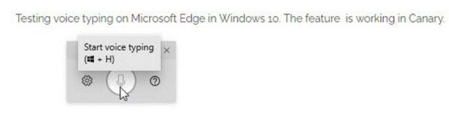Microsoft presenta el dictado por voz en Microsoft Edge Chromium