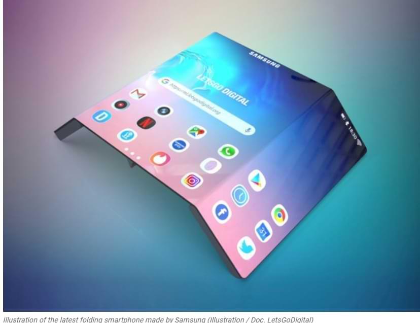 Samsung confirma que está desarrollando un teléfono inteligente con pantalla de desplazamiento y deslizamiento