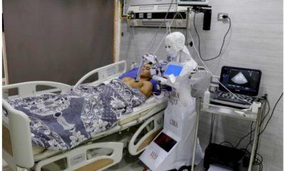 ¡Fresco! Estudiantes nigerianos construyen robots para cuidar a los pacientes con Covid-19