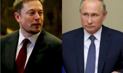 Elon Musk invita a Vladimir Putin a conversar a través de la aplicación Clubhouse