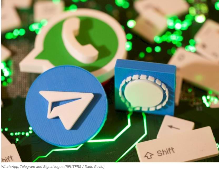 WhatsApp 'Legowo' Telegram and Signal está creciendo rápidamente debido a su política de privacidad