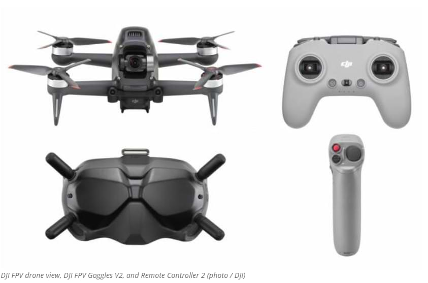 DJI anuncia su dron híbrido en primera persona, llamado FPV